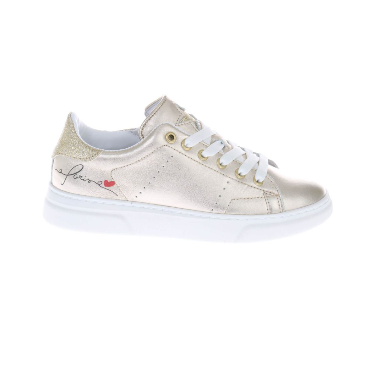 HIP H1279 Paris Sneakers Goud Metallic