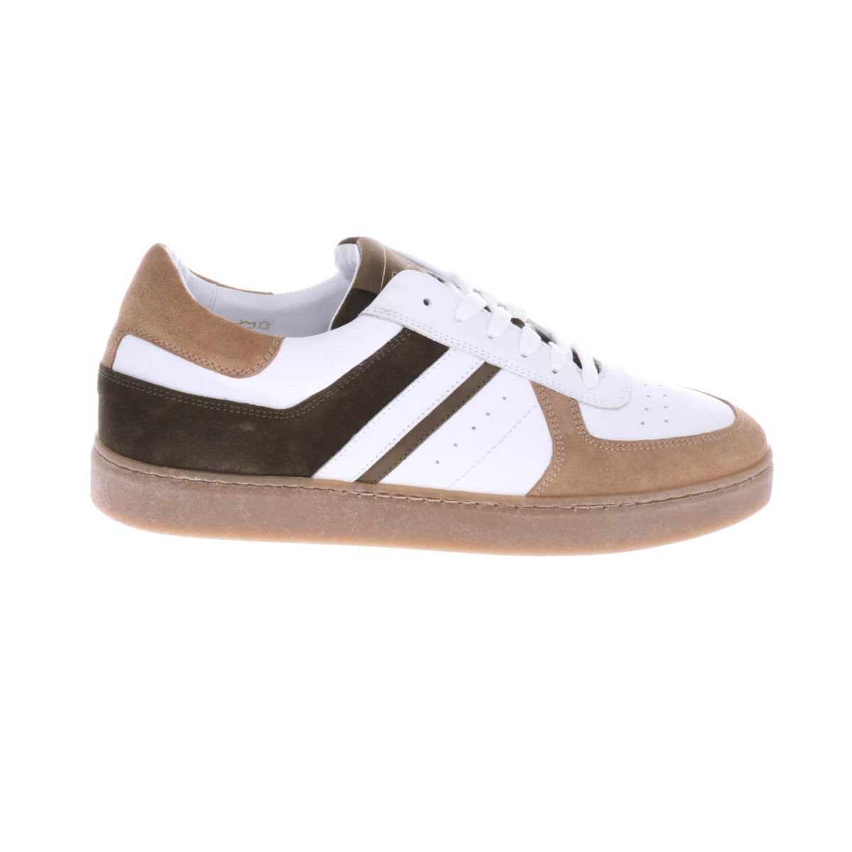 Mister Jackson M1933 Sneakers Wit Bruin