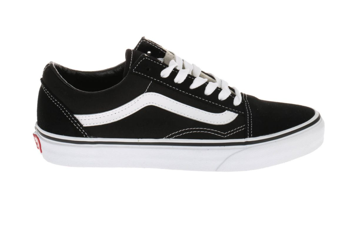 Vans Old School Sneakers Zwart Wit