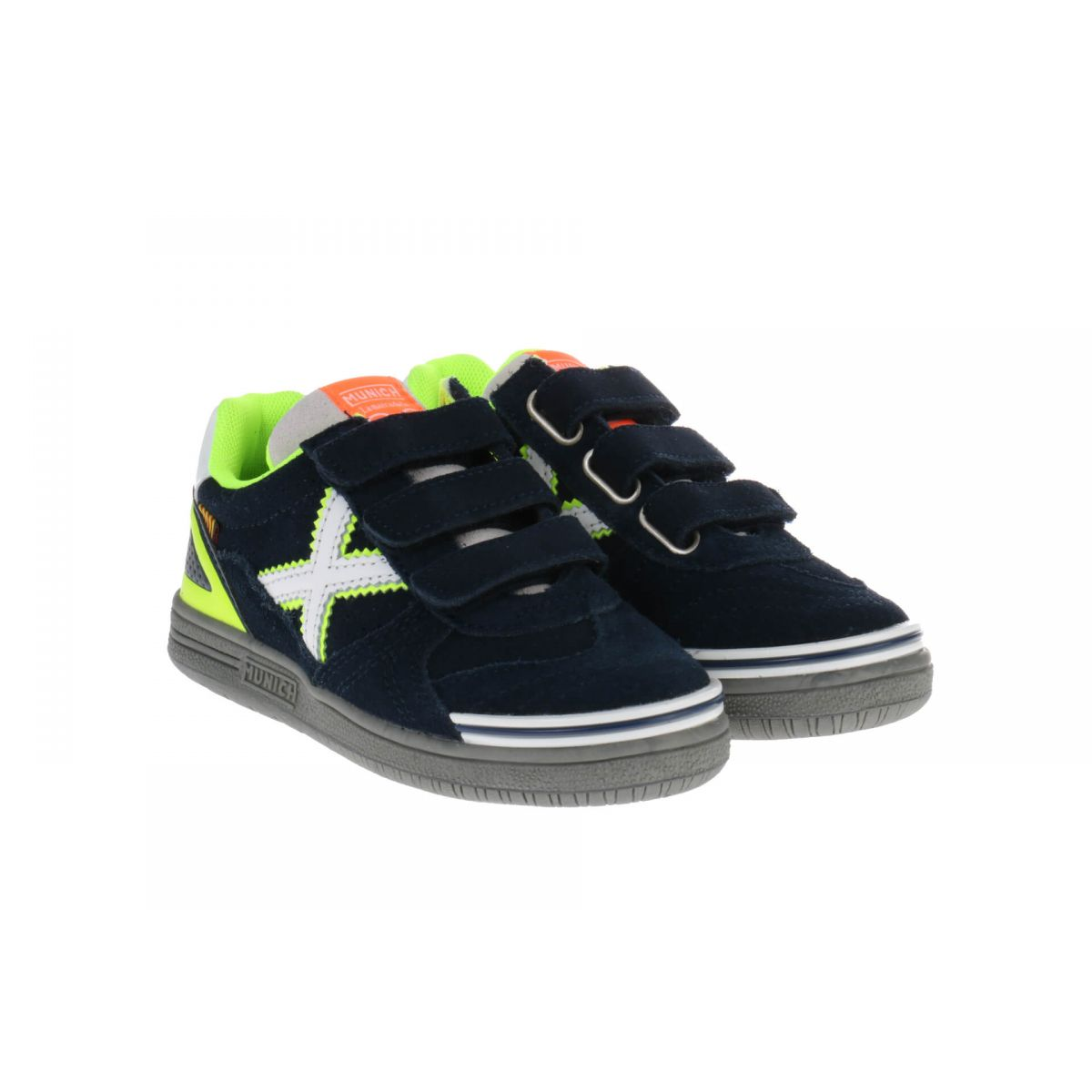 Munich 1514 054 Navy Fluor Yellow