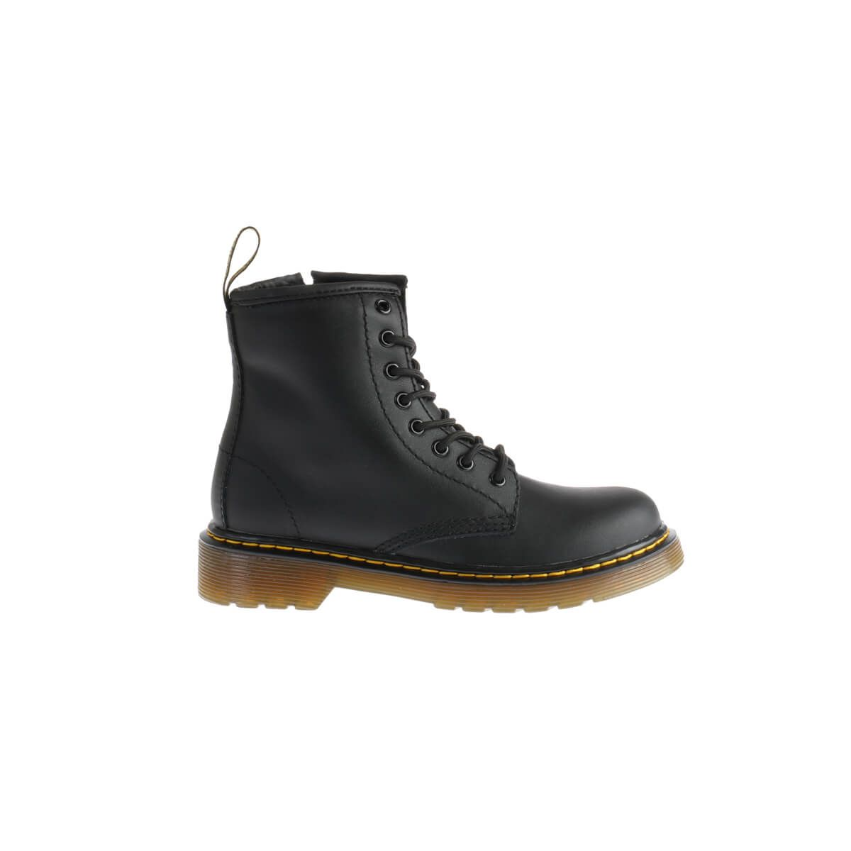 Boot Junior Zwart Leder
