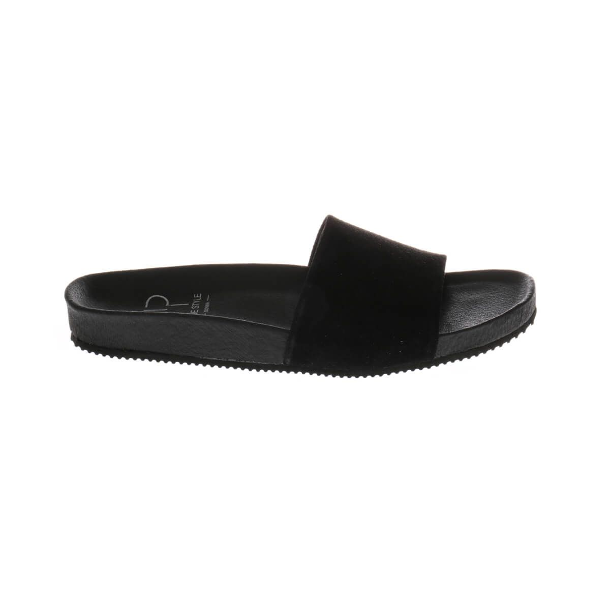 HIP D1523 Slippers Zwart