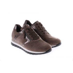 76438-30 Sneaker Taupe Suède
